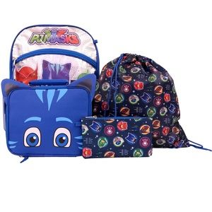 Pj mask backpack and extras